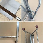 Image of Lakeside Vintage 1960s Chrome Folding Tray Stand