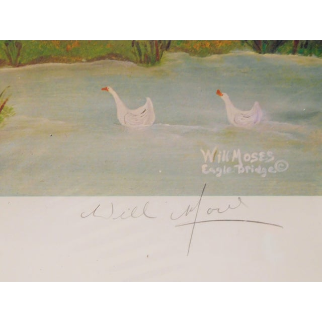 Will Moses Quilting Social Signed Serigraph - Image 4 of 4
