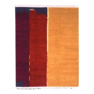 "Modern Hand-Woven Suzanne Odegard ""Frontier"" Rug - 8' x 10'"