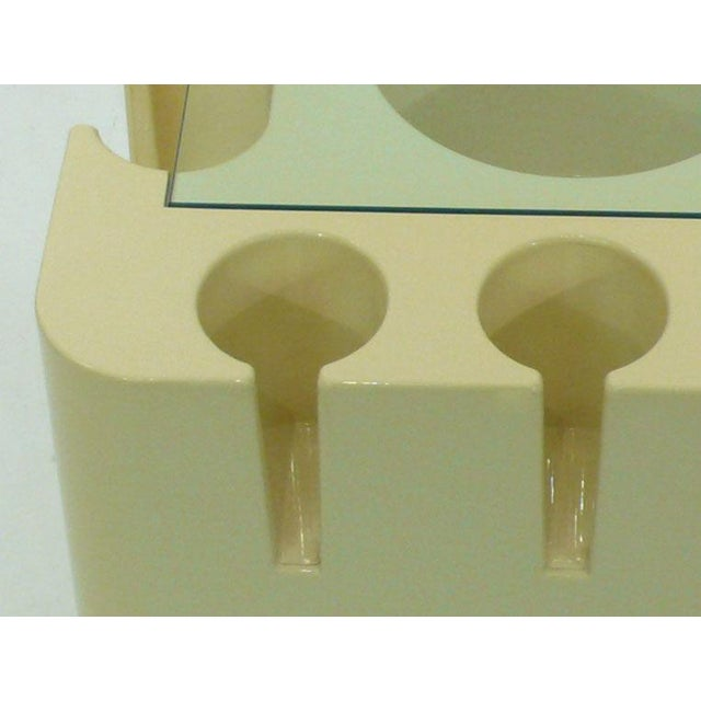 Rolling Bar Cart by Sergio Mazza for Artemide - Image 5 of 6