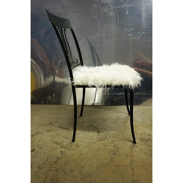 Wrought Iron Musical Chairs - A Pair - Image 4 of 6