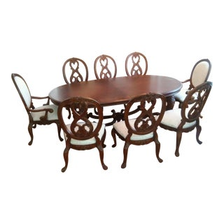 American Drew Dining Room Set With 12 Chairs