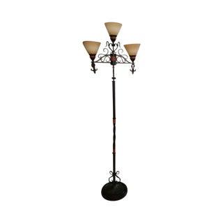 Earth Toned Floor Lamp