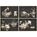 Image of Art Deco Asian Botanical Design Print