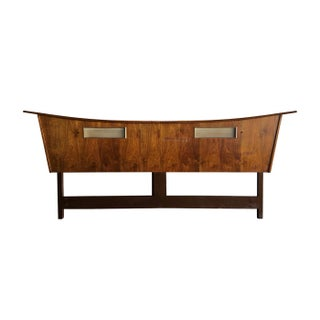 George Nakashima Style Mid-Century Modern King Sized Headboard