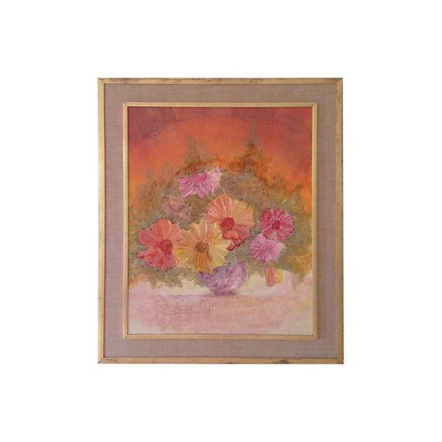 Image of Modernist Floral Still Life by Strong