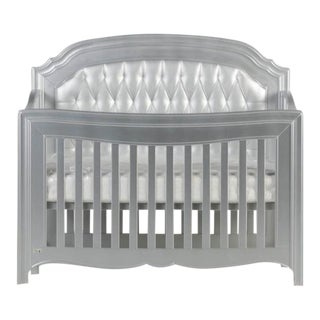 "Diamond Tufted Panel Natart ""Alexa"" Crib"