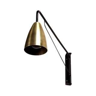 Black and Brass Wall Sconces - 3