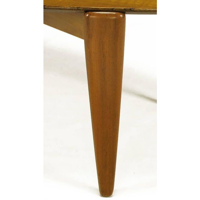Double Parabola Teak Coffee Table in the Manner of Finn Juhl - Image 8 of 8