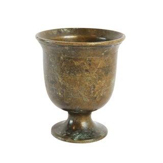 Vintage Handmade Bronze Cup