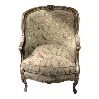 Hancock & Moore Louis XV Style Wing Chair