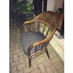 Image of Vintage Drexel Cane and Spindle Back Chair
