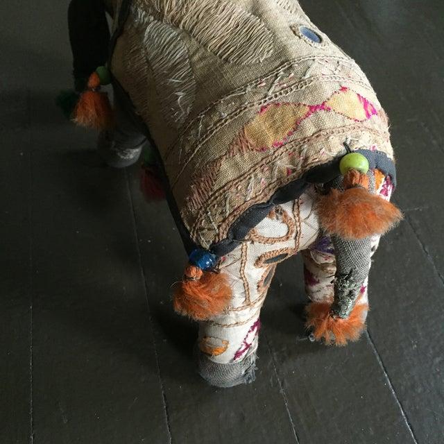 Antique Indian Boho Chic Yak Doll - Image 5 of 9