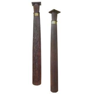 Anglo -Raj Rosewood Columns