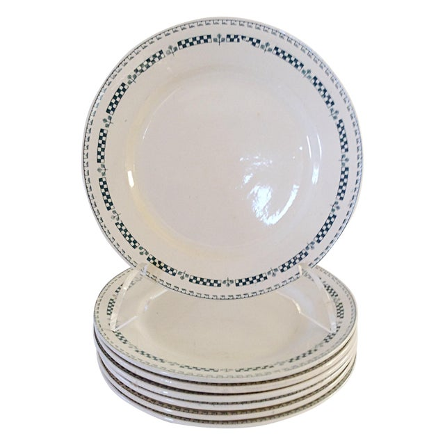 French Gien Plates - Set of 7 - Image 1 of 4