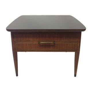 Martinsville Coffee Table with Basket Weave Cane