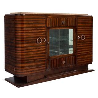 French Art Deco Macassar Bar/Buffet