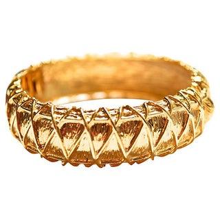 Hattie Carnegie Abstract Bracelet