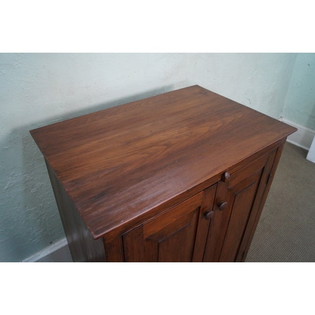 CG Derstine Bucks County Hand Crafted Pine Cabinet - Image 7 of 10