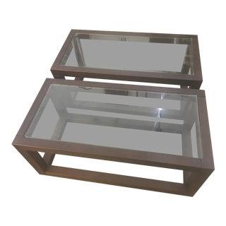 Roche Bobois Side Tables - A Pair