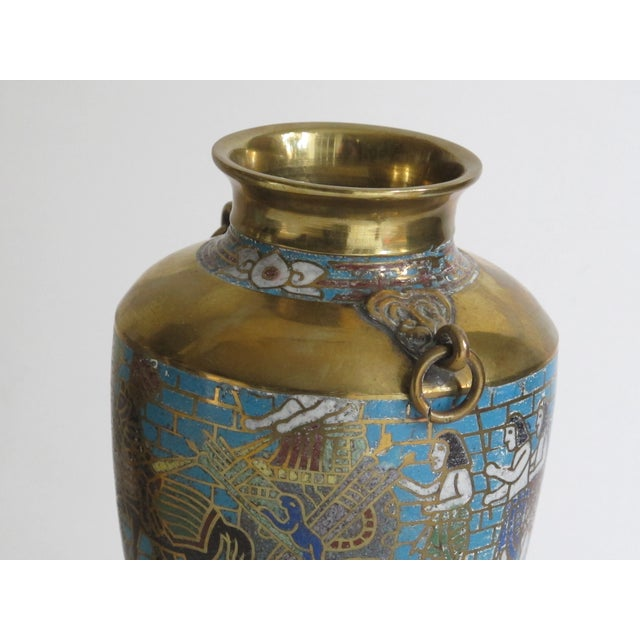 Egyptian Revival Urns - A Pair - Image 9 of 9