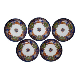 Japanese Porcelain Bowls, Set of 5