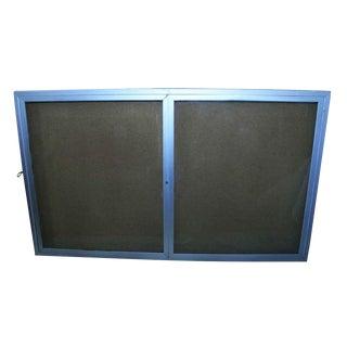Brushed Aluminum Menu Directory / Billboard Display