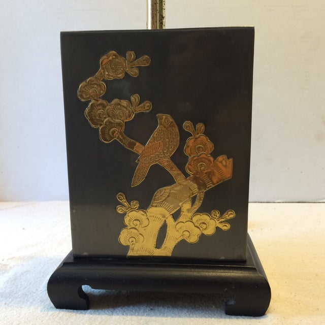 Mid-Century Fredrick Cooper-Style Asian Lamp - Image 3 of 11