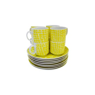 Taste Setters Modern Plates & Cups - Set of 16