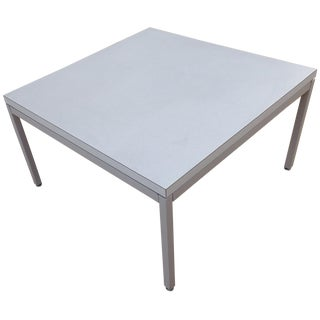 Steelcase Coffee Table with Chrome Legs