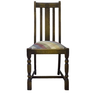 1930s American Oak Side Chair