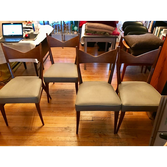 Paul McCobb Calvin Dining Chairs - Set of 4 - Image 8 of 11