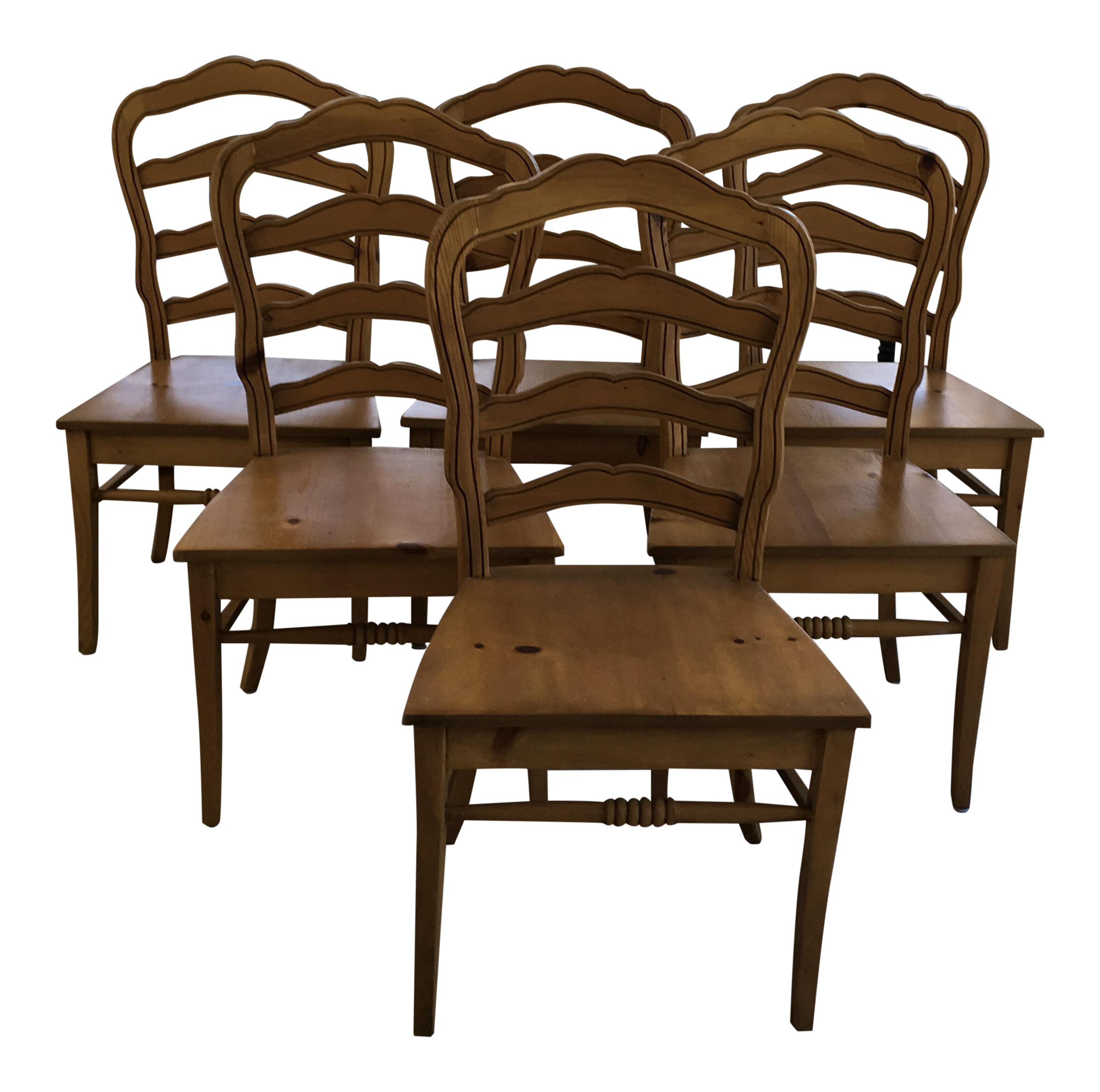 Rustic Dining Chairs vintage & used rustic dining chairs | chairish