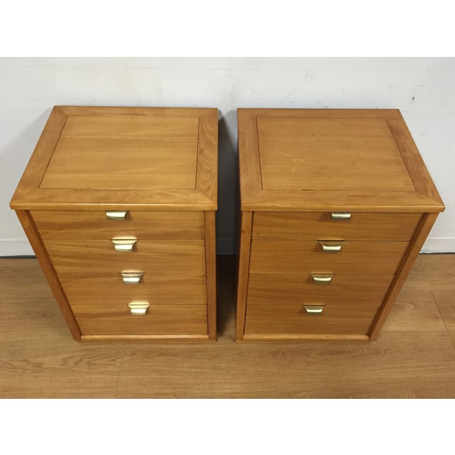 Image of Edward Wormley for Drexel Nightstands - A Pair