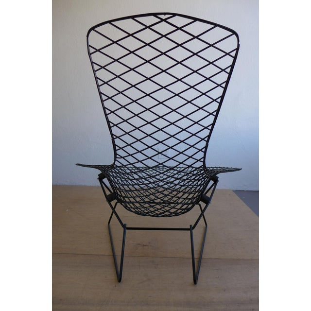 Harry Bertoia Bird Lounge Chair and Ottoman - Image 7 of 9