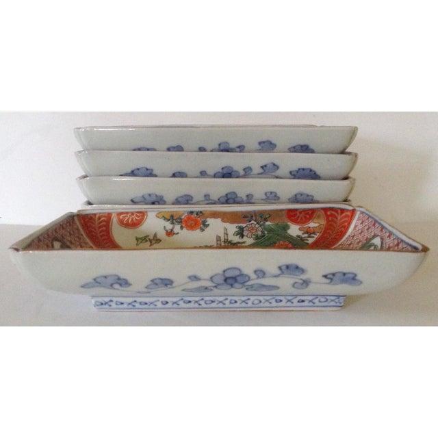 Japanese Imari Serving Plates - Set of 5 - Image 3 of 4