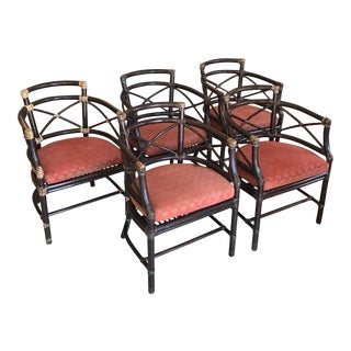 Barbara Barry for McGuire Bamboo Chairs - Set of 5