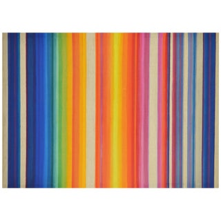 "Maxine Wishnick Painting ""Cityscape - Winter Sunset"""