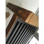 Image of Tomas Frenes Reclamined Oak Vented Bench