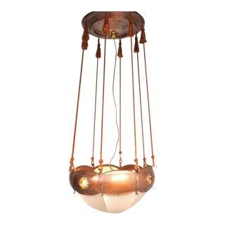 Ceiling Lamp by Winkelman & Van der Bijl, Netherlands, circa 1925