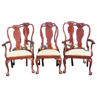 Henkel Harris Mahogany Dining Chairs - Set of 6
