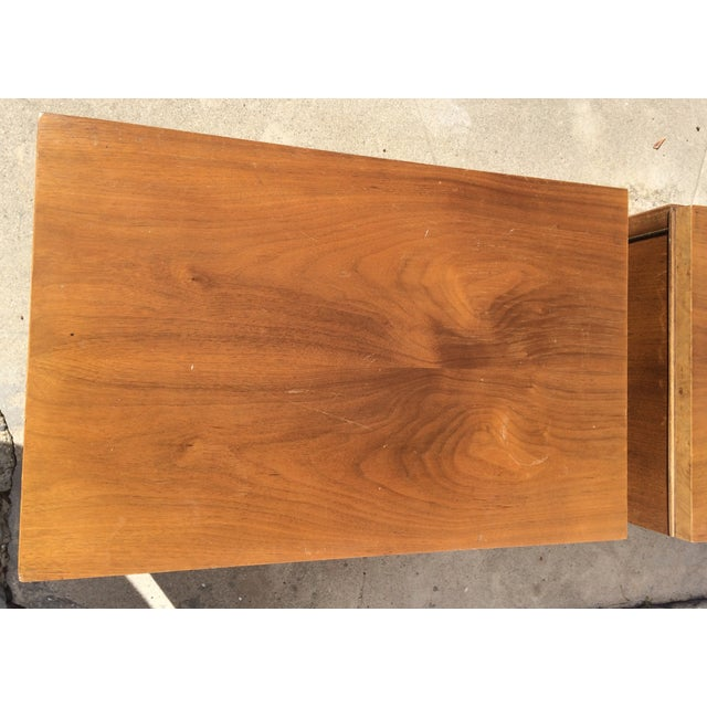 American Martinsville Mid-Century Side Tables Pair - Image 9 of 11