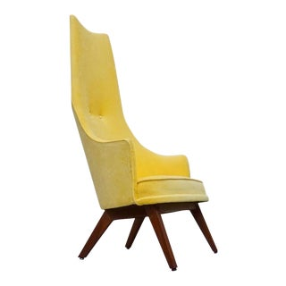 Vintage Adrian Pearsall Highback Accent Chair