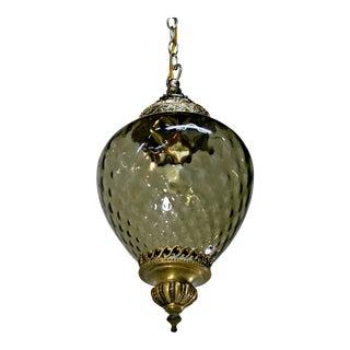 Hand Blown Glass Pendant Lamp