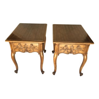 Weiman French Country End Tables - A Pair