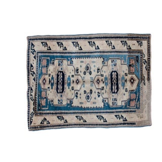 "Distressed Oushak Rug - 2'6"" x 3'4"""