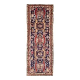 "Ardabil Vintage Persian Rug, 3'7"" x 10'0"""