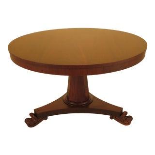 Ralph Lauren Round Walnut Center/Dining Table