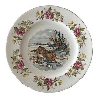 Easter Motif Porcelain Serving Plate