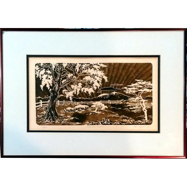Al Kaufman Intaglio Etchings - A Pair - Image 6 of 10